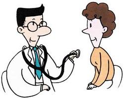 イラスト:きちんと診断を受けて正しい知識をもちましょう