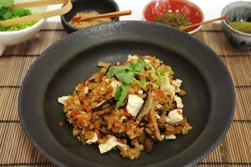 京・里山の幸炊き込みご飯干し野菜風味